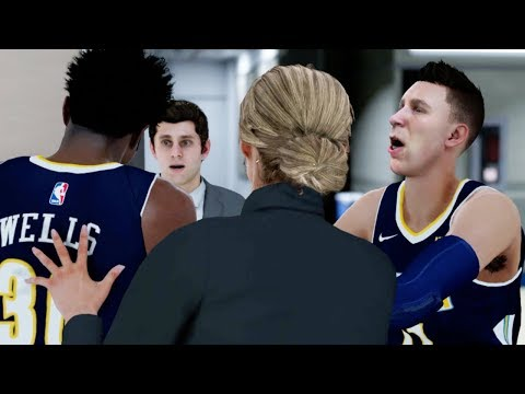 FIGHT BREAKS OUT BETWEEN SHAMMY AND DJ! NBA 2K18 My Career