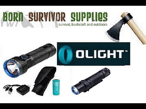 Outdoor/Camping gear unboxing from Olight and Born Survivor Supplies
