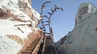 Expedition Everest front seat on-ride HD POV Disney