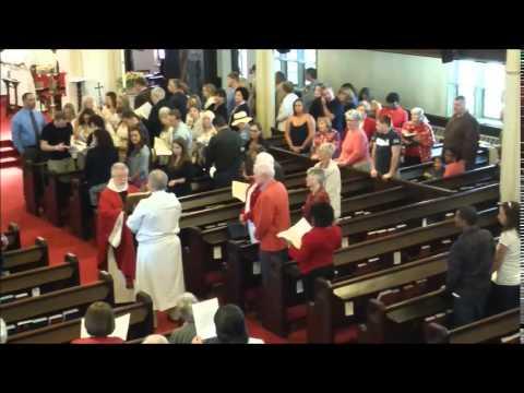Pentecost Sunday Gospel reading - Christ Episcopal Church, Stratford CT