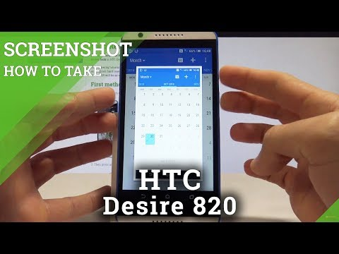 How to Take Screenshot on HTC Desire 820 - Capture Screen Methods
