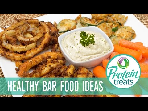 Low carb Onion Rings, Zucchini French Fries & Chips Recipe
