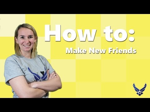 How to Make New Friends as a Military Spouse