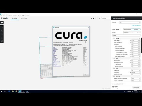 Setting Up A New Geeetech MeCreator2 Profile In Cura 3.2.0