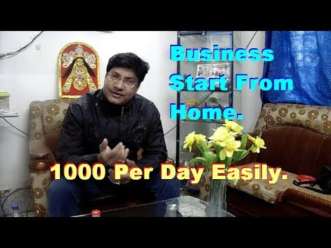 Easy Business to Start from Home. Small Business Idea. Unique Business plan.