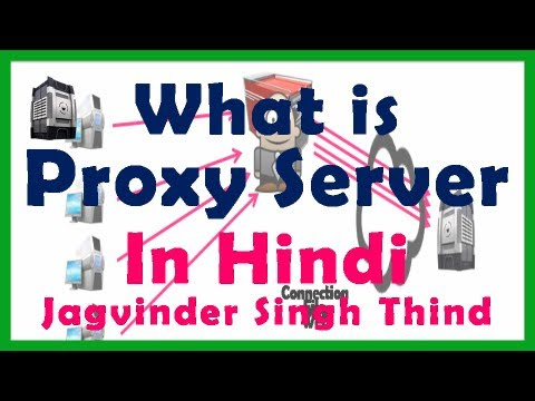 Proxy Server in Hindi - प्रॉक्सी सर्वर ट्यूटोरियल - Video 1