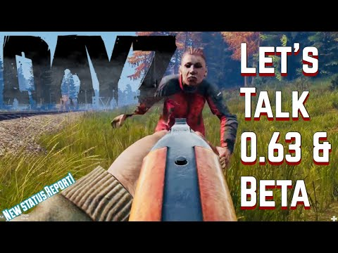 Let's Talk .63 and Beta Testing DayZ Standalone-New Status Report
