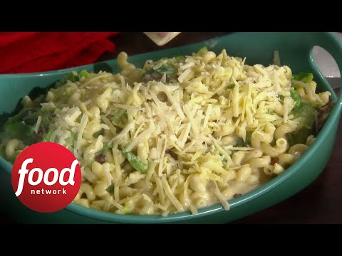 Rachael's Bacon Brussels Mac and Cheese | Food Network