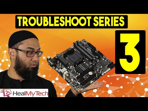 Troubleshoot Series Part 3 | How To Test A Motherboard | Dead Faulty Motherboard Uncut Parts Swap