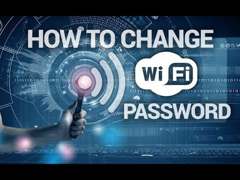 How to Change WiFi Password--Very Easy