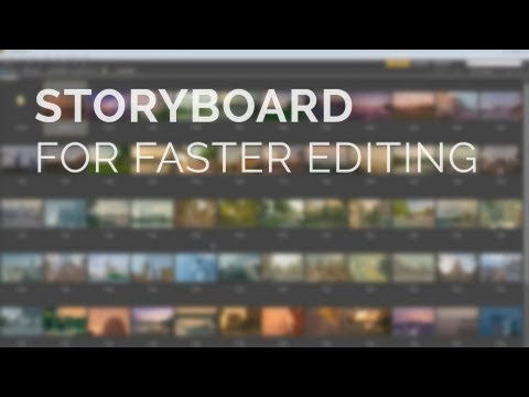 Create a Story Board For Video Editing