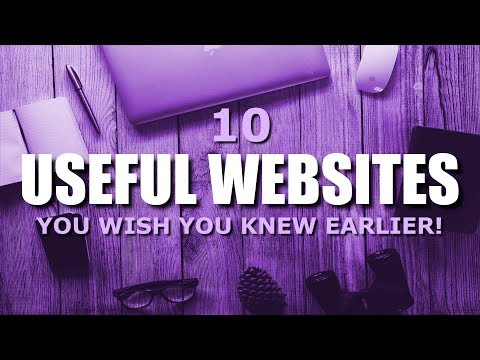 10 Useful Websites You Wish You Knew Earlier! 2017
