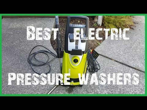 Best Electric Pressure Washer 2018 - Testing The Top Electric and Gas Models