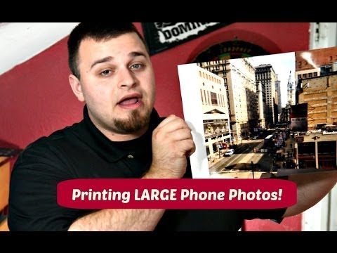PRINTING LARGE PHONE PRINTS...YES ITS POSSIBLE!