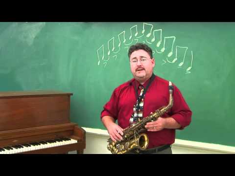 How to Play Jazz Sax Scales for Beginners on the Saxophone