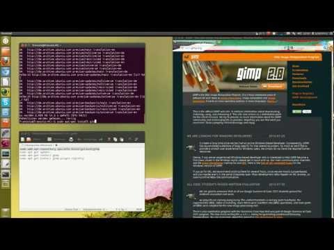 #1 - GIMP 2.8 installieren - Linux, Windows, Mac