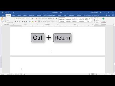 Create an Index in Word by Chris Menard