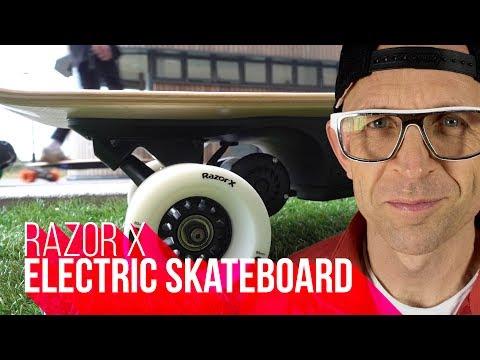 Razor X Cruiser | *NEW* Kids Electric Skateboard