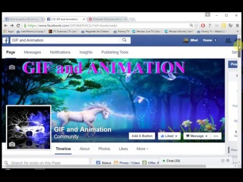 VIDEO TUTORIAL ON HOW TO COPY AND PASTE GIF ANYWHERE ON FACEBOOK