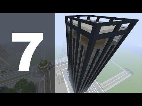 Minecraft Let's Build : 70's Style Skyscraper - Part 7