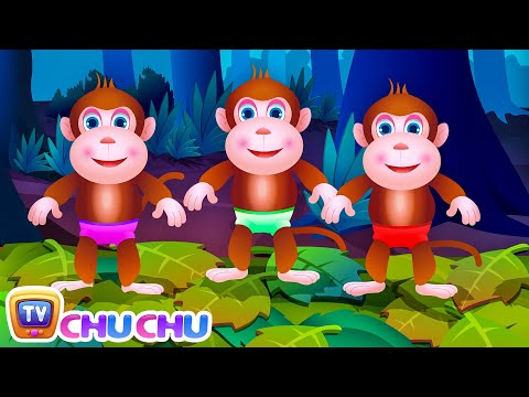 Xxx Mp4 Five Little Monkeys Jumping On The Bed Part 1 The Naughty Monkeys ChuChu TV Kids Songs 3gp Sex