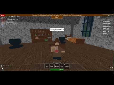 How to make a Heal Potion on Kingdom Life 2 - ROBLOX