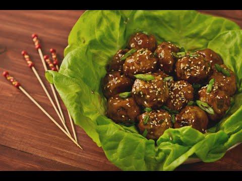 Chicken Teriyaki Meatballs | Hungry AF