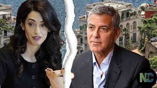Hell marriage: George Clooney's European home, was compensated for Amal in the divorce agreement