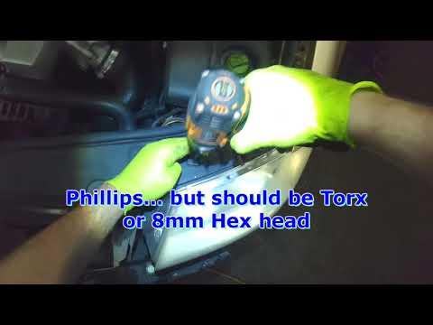 VW 3B & 3BG: B5.5 Passat Headlight assembly removal