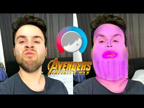 FACETUNING MYSELF INTO THE AVENGERS