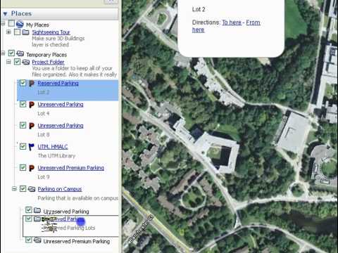 Organizing your Files in Google Earth