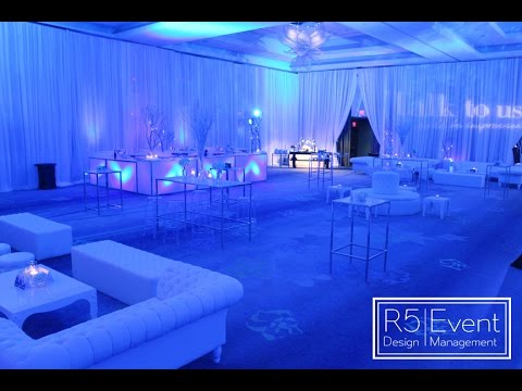Corporate Event Decor - Winter Wonderland