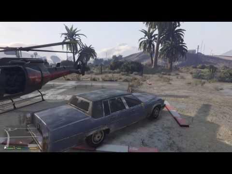 Blowing stuff up [GTA V]