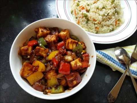 Chilli Paneer | Dried Sweet & Sour Chilli Paneer