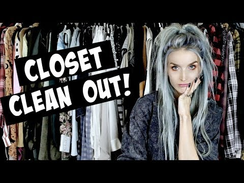 Spring Clean My Closet With Me