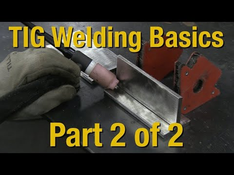 Welding Basics & How-to TIG Weld - Livestream Part 2 of 2 - Eastwood