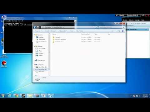 How to create a Terraria 1.1.2 Server 2012