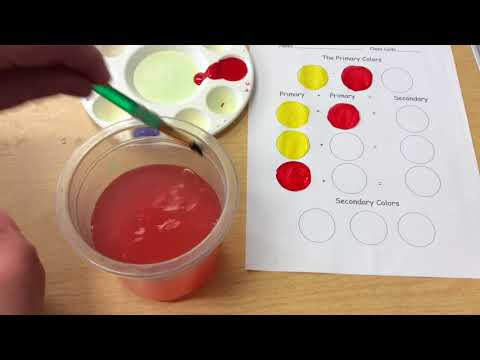Mixing Secondary Colors