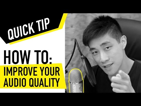 How to make your audio sound better for YouTube videos