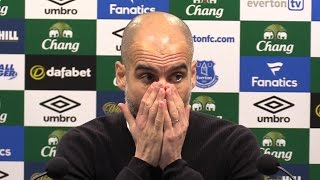 Everton 4-0 Manchester City - Pep Guardiola Full Post Match Press Conference