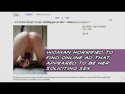 Xxx Mp4 Woman Horrified To Find Online Ad That Appeared To Be Her Soliciting Sex 3gp Sex