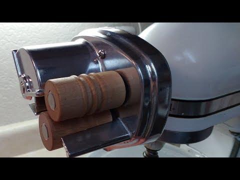 Cavatelli Pasta Maker Attachment on KitchenAid Stand Mixer