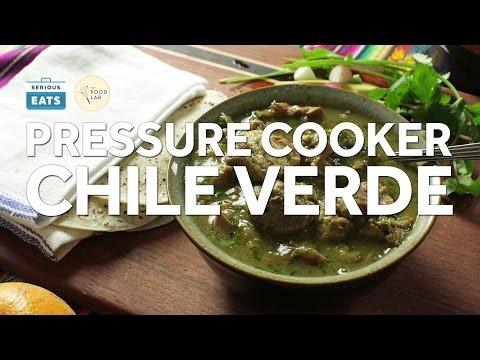 How to Make Pressure Cooker Pork Chile Verde