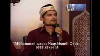 Meri Umar Madine De Tibyan Di DM PE LIVE Muhammad Waqas Naqshbandi Qadri