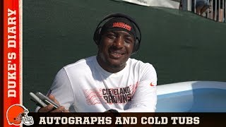 Download Duke's Diary: Autographs and Cold Tubs Video