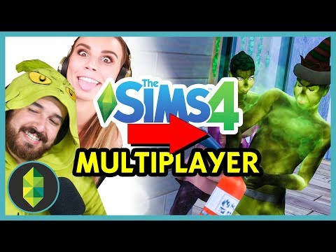 The Sims 4 MULTIPLAYER - Playing HIDE & SEEK! (w/ Deligracy)
