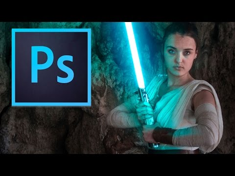 Star Wars | Realistic Lightsaber Photoshop Tutorial