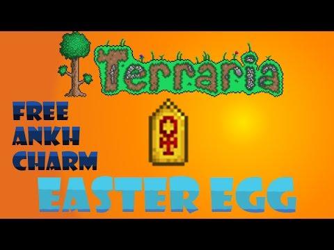 Terraria 1.2.1.2 Easter Egg: Free Ankh Charm!! [NO LONGER WORKS]