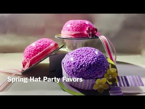 Spring Hat Party Favors