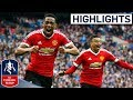 Everton 1 2 Manchester United Martial Wins It For United Emirates FA Cup 201516 Semi Final